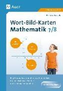 Cover-Bild zu Wort-Bild-Karten Mathematik Klassen 7-8 von Ksiazek, Bernard