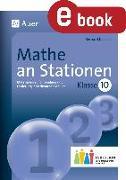 Cover-Bild zu Mathe an Stationen 10 Inklusion (eBook) von Ksiazek, Bernard