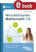 Cover-Bild zu Wort-Bild-Karten Mathematik Klassen 7-8 (eBook) von Ksiazek, Bernard