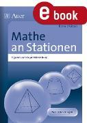 Cover-Bild zu Mathe an Stationen Figuren und Körper Klasse 8-10 (eBook) von Ksiazek, Bernard
