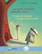 Cover-Bild zu Petz, Moritz: Der Dachs hat heute schlechte Laune! Kinderbuch Deutsch-Russisch