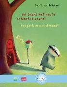 Cover-Bild zu Petz, Moritz: Der Dachs hat heute schlechte Laune! Kinderbuch Deutsch-Englisch