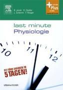 Cover-Bild zu Last Minute Physiologie (eBook) von Jacobi, Björn