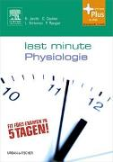 Cover-Bild zu Last Minute Physiologie von Jacobi, Björn