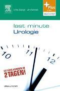 Cover-Bild zu Last Minute Urologie von Zwergel, Ulrike