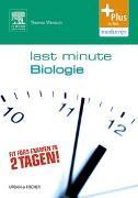 Cover-Bild zu Last Minute Biologie von Wenisch, Thomas