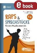 Cover-Bild zu Raps & Sprechstücke für den Musikunterricht 5-6 (eBook) von Meggendorfer, Silke