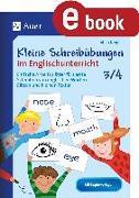 Cover-Bild zu Kleine Schreibübungen im Englischunterricht 3/4 (eBook) von Krygiel, Alina