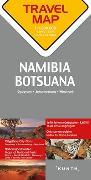 Cover-Bild zu Reisekarte Namibia / Botsuana 1:1.500.000. 1:1'500'000