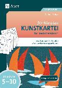 Cover-Bild zu 30-Minuten-Kunstkartei für zwischendurch von Blahak, Gerlinde