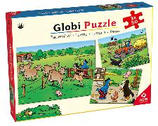 Cover-Bild zu Globi Puzzle Bauernhof