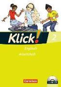 Cover-Bild zu Klick! Englisch 2. Arbeitsheft von Backhaus, Angela