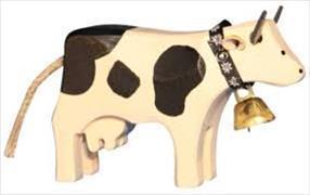 Cover-Bild zu Kuh 1 stehend schwarz
