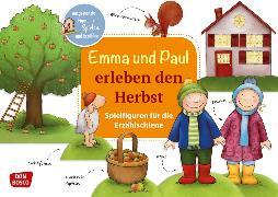 Cover-Bild zu Emma und Paul erleben den Herbst. Spielfiguren für die Erzählschiene von Lehner, Monika