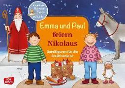 Cover-Bild zu Emma und Paul feiern Nikolaus. Spielfiguren für die Erzählschiene von Lehner, Monika