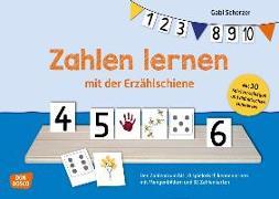 Cover-Bild zu Zahlen lernen mit der Erzählschiene von Scherzer, Gabi