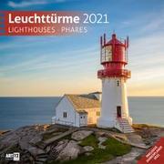 Cover-Bild zu Leuchttürme Kalender 2021 - 30x30 von Ackermann Kunstverlag (Hrsg.)