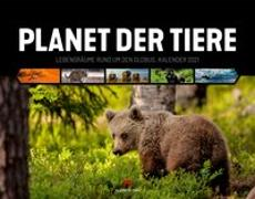 Cover-Bild zu Planet der Tiere Kalender 2021 von Ackermann Kunstverlag (Hrsg.)