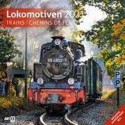 Cover-Bild zu Lokomotiven Kalender 2021 - 30x30 von Ackermann Kunstverlag (Hrsg.)