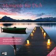 Cover-Bild zu Momente für Dich Kalender 2021 - 30x30 von Ackermann Kunstverlag (Hrsg.)