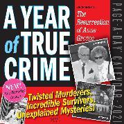 Cover-Bild zu A Year of True Crime Page-A-Day Calendar 2021 von Workman Calendars