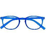 Cover-Bild zu JUNIOR G35700 blau Panto-Kunststoffbrille mit passendem Etui +1.00 dpt