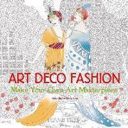 Cover-Bild zu Art Deco Fashion (Art Colouring Book) von Seal, Daisy (Ausw.)