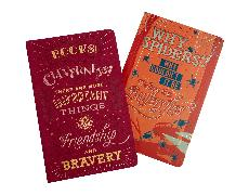 Cover-Bild zu Harry Potter: Character Notebook Collection (Set of 2) von Insight Editions