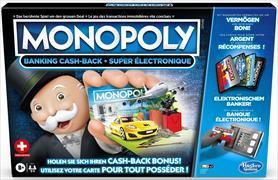 Cover-Bild zu Monopoly Banking Cash-Back Schweiz