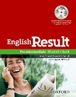 Cover-Bild zu English Result: Pre-Intermediate: Student's Book with DVD Pack von Hancock, Mark