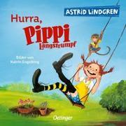 Cover-Bild zu Hurra, Pippi Langstrumpf von Lindgren, Astrid