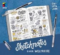 Cover-Bild zu Sketchnotes einer Weltreise (eBook) von Lamm, Eva-Lotta