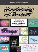 Cover-Bild zu Handlettering mit Procreate (eBook) von Ivkovic, Pavo