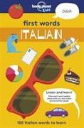Cover-Bild zu First Words - Italian von Mansfield, Andy