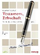 Cover-Bild zu Testament, Erbschaft (eBook) von Studer, Benno