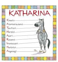 Cover-Bild zu Namenskalender Katharina von Mayr, Johann (Illustr.)