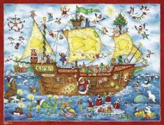 Cover-Bild zu Weihnachten, Ahoi! von Broeske-Haas, Monika