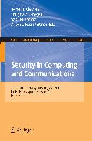 Cover-Bild zu Security in Computing and Communications von Abawajy, Jemal H. (Hrsg.)