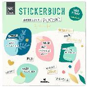 Cover-Bild zu Papeterie Stickerbuch Schnipselpoesie