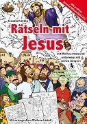 Cover-Bild zu Rätseln mit Jesus von Kündig, Claudia (Illustr.)