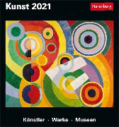 Cover-Bild zu Kunst Kalender 2021