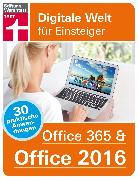 Cover-Bild zu Erle, Andreas: Office 365 & Office 2016 (eBook)