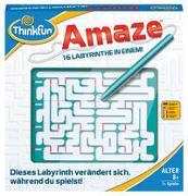 Cover-Bild zu ThinkFun - 76320 - Amaze - ein sich veränderndes Labyrinth. Wer findet den Weg hinaus? Ein Knobelspiel für Jungen und Mädchen ab 8 Jahren