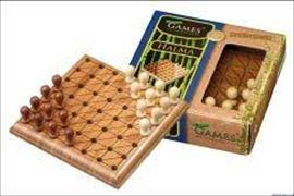 Cover-Bild zu Mini-Spiel - Halma - Bambus