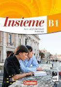 Cover-Bild zu Insieme B1. Kurs- und Arbeitsbuch