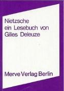 Cover-Bild zu Deleuze, Gilles: Nietzsche
