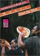 Cover-Bild zu Reise Know-How Sprachführer Maori für Neuseeland - Wort für Wort von Harlow, Ray