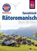 Cover-Bild zu Rätoromanisch - Wort für Wort (Surselvisch, Rumantsch, Bündnerromanisch, Surselvan) von Janzing, Gereon