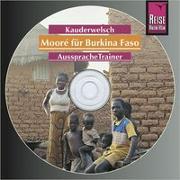 Cover-Bild zu Reise Know-How Kauderwelsch AusspracheTrainer Mooré für Burkina Faso (Audio-CD) von Stockleben, Björn