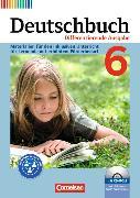 Cover-Bild zu Deutschbuch 6. Schuljahr. Differenzierende Ausgabe. Lehrermaterialien mit CD-ROM. NW von Faber, Gisela